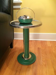 $90 Etsy......WANT This Vintage Midcentury Modern Ashtray Stand Was