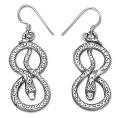 Snake Nepalese hand crafted Earrings