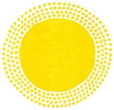 inspiration for kite designs Kazuaki Yamauchi yellow Yellow Sun, Mellow Yellow, Sonne Illustration, Sun Logo, Good Day Sunshine, Sun Art, Illustrations, My Favorite Color, Artsy Fartsy