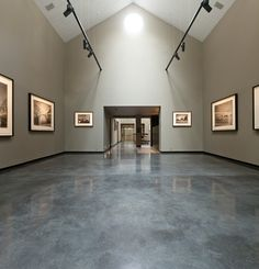 Polished concrete floor Lazenby's installed 150m² Mayfair Grey polished concrete…