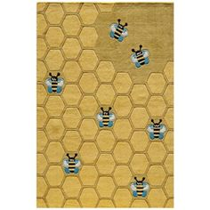 Momeni Lil Mo Whimsy LMJ-15 Honeycomb Area Rug -