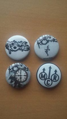 Check out this item in my Etsy shop https://www.etsy.com/listing/293263579/my-chemical-romance-1-pinback-buttons-1