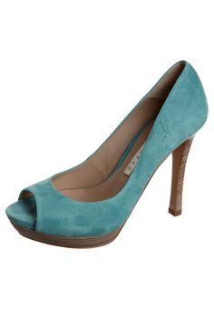Pura Lopez  High Heels - turquoise