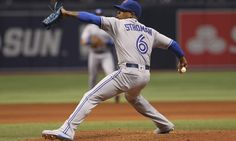 Marcus Stroman lives up to ace billing on Opening Day (4/3/16) #BlueJays win 5-3 over the Rays!
