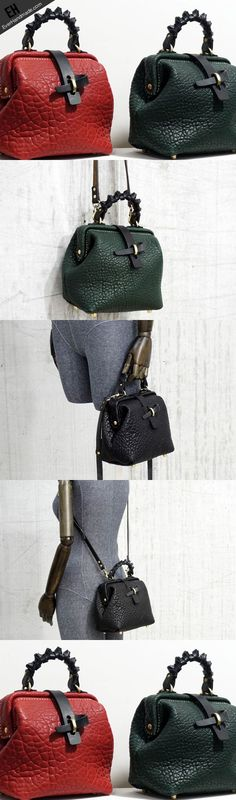 Handmade Leather crossbodybag handbag shoulder bag for women