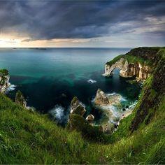 The Wishing Arch, County Antrim, Northern Ireland. So mystical!