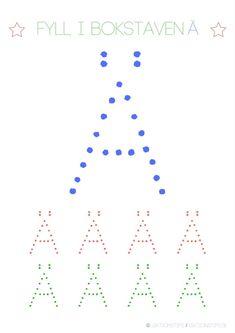 Lär dig skriva hela alfabetet med dessa färgglada bokstäver i färgerna röd, grön och blå – Lektionstips Teacher Education, Line Chart, Cool Kids, Diagram, Teaching, Language, Tips, Inspiration, Spanish Classroom