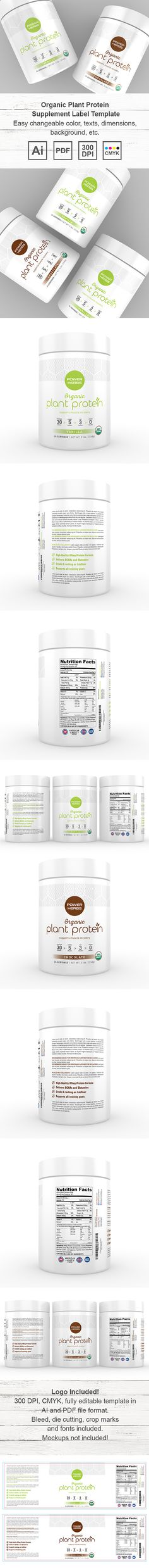 Moringa Oleifera Supplement Label Template http\/\/wwwdlayouts - packing label template