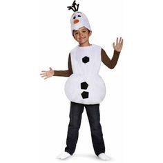 Frozen Olaf Basic Child Halloween Costume - Walmart.com