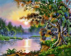 اُمید صبح: Amazing Paintings Art