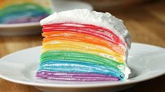 This Rainbow Crepe Cake Is Almost Too Beautiful To Eat