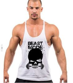 Men/'s Basic Long Length Curved Hem Tank Top Sleeveless T-shirts Vest Fitness BJ