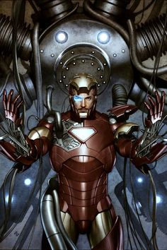 Iron Man by Adi Granov  How do you get dressed in the morning?