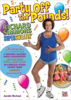 "We started off with a Richard Simmons classic, ""Party Off The Pounds."" 