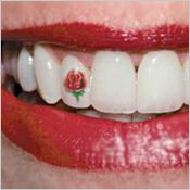 Temporary Tooth Tattoos Tempt Trendy Types – Dentistry.com®