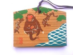 Japanese Shrine Wood Plaque at Sumiyoshi Grand от VintageFromJapan