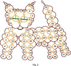 tatted cat pattern