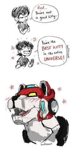 If Red Lion coud transform into a human it will... hug RLLY HARD Keith for 1 min Just think it...