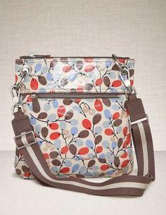 oil cloth pocket bag crossbody  my new favorite bags