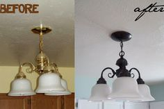 Running With Scissors: Lighting Makeover On a Budget