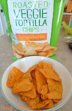 Packing Healthy School Lunches with Veggie Chips