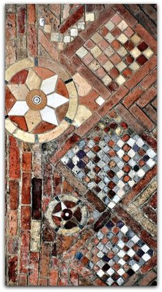 The ancient Santo Sepolcro, part of the basilica of Santo Stefano in Bologna, Italy.: