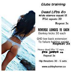 Ashley Horner Butt Workout