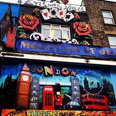 The amazing Camden Town! t ho detto qls io. Travel Around The World, Around The Worlds, Camden Town, London City, Urban Art, Places To Visit, Street, Amazing, Travelling