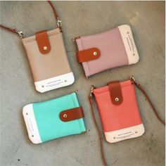 Classic Smartphone Pouch.  Can be made larger for iPad.