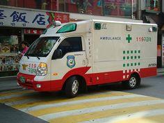 서울특별시 (Ambulance in Seoul, South Korea)