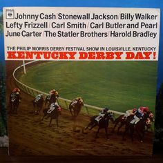 Kentucky Derby Day! Starring Johnny Cash, Lefty Frizzell, June Carter, Statler Brothers... Vinyl Record LP 1964 Country Music by vintagebaronrecords on Etsy