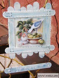 Gallery.ru / Фото #24 - поделки из медицинских шпателей или палочек от мороженого - Vladikana