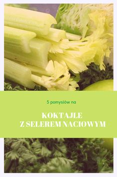 Smothie, Limoncello, Celery, Recipies, Menu, Vegetables, Fitness, Food, Slim