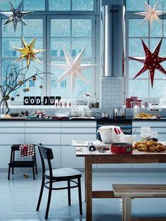 Christmas stars_learning to love white_christmas decor_scandinavian design