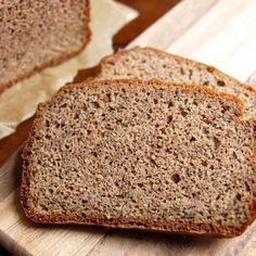 Phase 3 (Sub xylitol for honey) Grain-Free Sandwich Bread -- Perfect for snacks or lunches! Each loaf = 10 healthy fat/5 protein servings.