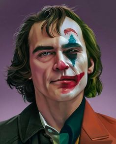 Joaquin Phoenix gave an oscar-winning performance in Todd Phillip's film-Joker. Joker addresses the relation of mental illness to crime and violence. Le Joker Batman, Der Joker, Joker And Harley Quinn, Gotham Batman, Batman Art, Batman Robin, Joker Images, Joker Pics, Joker Hd Wallpaper