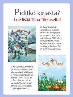 Lue selaimessa - Iltasatu Books, Libros, Book, Book Illustrations, Libri