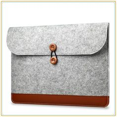 """LOW PRICE PU Leather Sleeve Case For Macbook Laptop Bag Air /Pro/Retina 11.6"""",13.3""""15.4"""",Notebook,- FREE SHIPPING"""