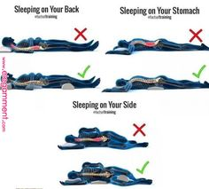 3 Best Sleeping Positions - All About Health Health Facts, Health Tips, Cat Health, Brain Health, Health And Wellbeing, Health Benefits, Healthy Sleeping Positions, Best Sleep Positions, Yoga Positions
