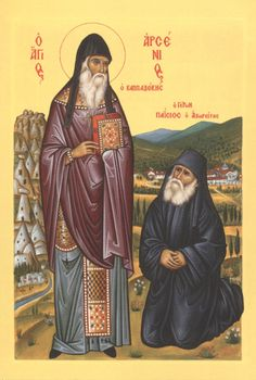 The Spiritual Father in Orthodox Christianity Orthodox Catholic, Orthodox Christianity, Roman Church, Roman Catholic, Religious Icons, Religious Art, Byzantine Icons, Orthodox Icons, Christian Art