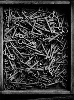 I love old keys.