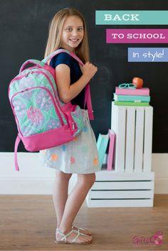 e43aef052056 Personalized Backpack Bookbag Kids School Tote Bag - Beachy Keen Ikat