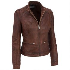 Black Rivet Stitch Shoulder Lamb Jacket w/Nipped Waist                  -                                Jackets for Her                  -                                Gifts for Her                  -                                Women                                              - Wilsons Leather