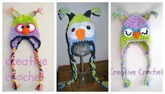 cotton owlhats Crochet Owl Hat, Cotton, Fashion, Moda, Fashion Styles, Fashion Illustrations