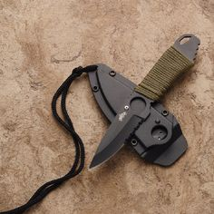 Master Cutlery Puma Neck Knife is the essential tool for all knife lover for their everyday carry for self defence.