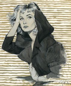 Original art - a sample done for Will's portfolio, c. mid-1950s