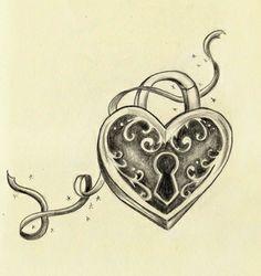 Ornamental Locke Tattoo for Sleeve on sleeve-tattoo.com