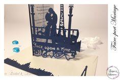 Faire-part Mariage Design - Modèle Arabesque - Paris romantique de la boutique OrchidEtCreations sur Etsy Tour Eiffel, Kirigami, Arabesque, Creations, Boutique, Design, Etsy, Glamorous Wedding, Paper Lace