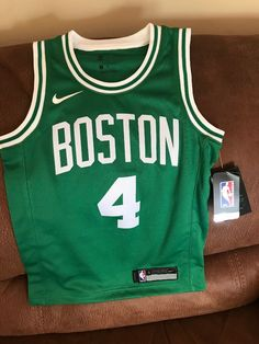 328389fcb4031 Details about Nike Boston Celtics Isaiah Thomas  4 Basketball Jersey NWT  Size Small Youth. Isaiah ThomasBasketball JerseyBoston CelticsShirt