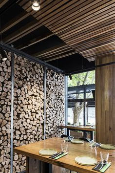 Akiba Restaurant, Canberra, Australia designed by Adam Dettrick Architects